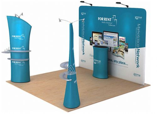 Fabric Exhibition Stand Zones : Formulate vivo fabric banner system kit 1 pop up display stand